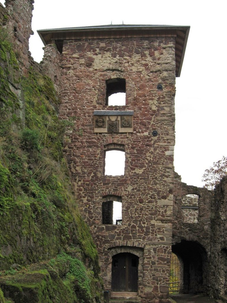 Ruine desTreppenturms
